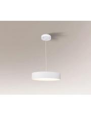Lampa wisząca Bungo biała 5517 7546 65 cm Shilo