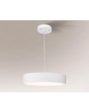 Lampa wisząca Bungo biała 5518 7549 80 cm Shilo