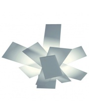Kinkiet/plafon Big Bang 151005 10 biały Foscarini