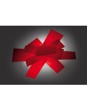 Kinkiet/plafon Big Bang 151005 63 czerwony Foscarini