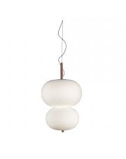 Lampa wisząca Ilargi double brązowa 00-6013-93-F9 Grok