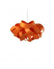 Lampa wisząca drewniana Agatha Small pomarańczowa LZF