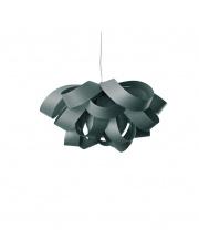 Lampa wisząca drewniana Agatha Small turkusowa LZF
