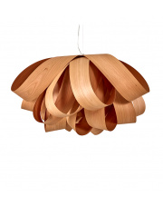 Lampa wisząca drewniana Agatha Large cherry LZF
