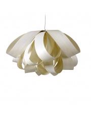 Lampa wisząca drewniana Agatha Large biała LZF
