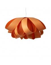 Lampa wisząca drewniana Agatha Large pomarańczowa LZF