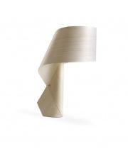 Lampa biurkowa drewniana Air biała LZF