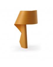 Lampa biurkowa drewniana Air żółta LZF