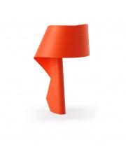 Lampa biurkowa drewniana Air pomarańczowa LZF