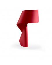 Lampa biurkowa drewniana Air czerwona LZF