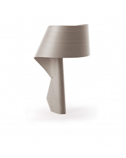 Lampa biurkowa drewniana Air szara LZF
