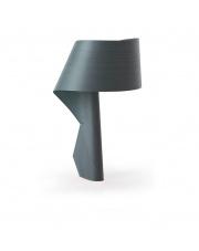 Lampa biurkowa drewniana Air turkusowa LZF