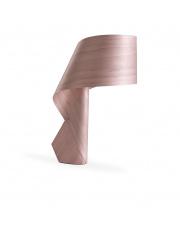 Lampa biurkowa drewniana Air jasnoróżowa LZF