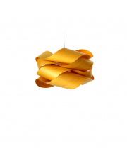 Lampa wisząca drewniana Link Small żółta LZF