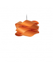 Lampa wisząca drewniana Link Small pomarańczowa LZF