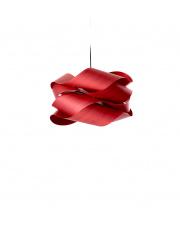 Lampa wisząca drewniana Link Small czerwona LZF