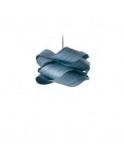 Lampa wisząca drewniana Link Small niebieska LZF