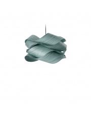 Lampa wisząca drewniana Link Small turkusowa LZF
