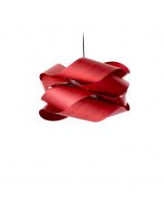 Lampa wisząca drewniana Link Large czerwona LZF