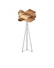 Lampa podłogowa drewniana Link wiśnia LZF