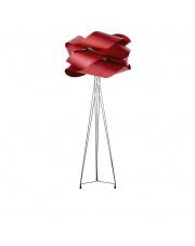 Lampa podłogowa drewniana Link czerwona LZF