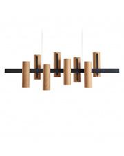 Lampa wisząca drewniana Black Note Keys wiśnia LZF