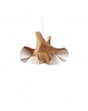 Lampa wisząca drewniana Minimikado wiśnia LZF