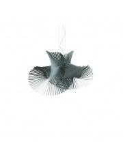 Lampa wisząca drewniana Minimikado turkusowa LZF