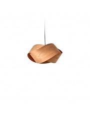 Lampa wisząca drewniana Nut wiśnia LZF