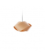 Lampa wisząca drewniana Nut buk LZF