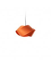 Lampa wisząca drewniana Nut pomarańczowa LZF