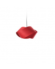 Lampa wisząca drewniana Nut czerwona LZF