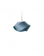 Lampa wisząca drewniana Nut niebieska LZF