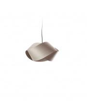 Lampa wisząca drewniana Nut szara LZF