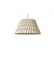 Lampa wisząca drewniana Lola Medium biała LZF