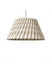 Lampa wisząca drewniana Lola Large biała LZF