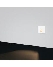 Wpust ścienny Lesel 001 L biały/czarny/alu Elkim Lighting