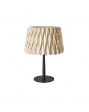 Lampa biurkowa drewniana Lola Small biała LZF
