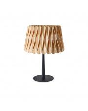 Lampa biurkowa drewniana Lola Small buk LZF