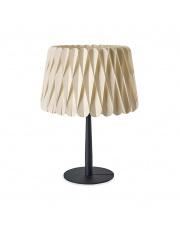 Lampa biurkowa drewniana Lola Medium biała LZF