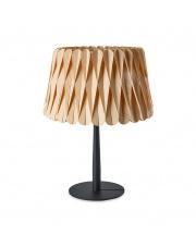 Lampa biurkowa drewniana Lola Medium buk LZF