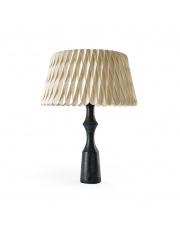 Lampa biurkowa drewniana Lola Lux Large biała LZF