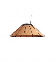 Lampa wisząca drewniana Banga Medium 90 cm wiśnia LZF