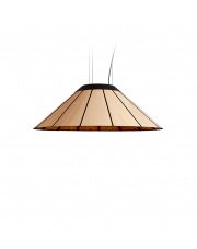 Lampa wisząca drewniana Banga Medium 90 cm buk LZF