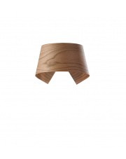 Kinkiet drewniany Hi-Collar wiśnia LZF