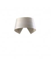 Kinkiet drewniany Hi-Collar biały LZF