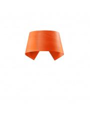 Kinkiet drewniany Hi-Collar pomarańczowy LZF