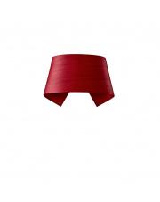 Kinkiet drewniany Hi-Collar czerwony LZF