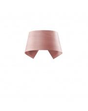 Kinkiet drewniany Hi-Collar jasnoróżowy LZF