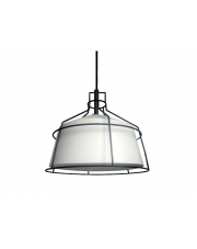 Lampa wisząca Dritto średnia biała LP-123/1P M WH Light Prestige